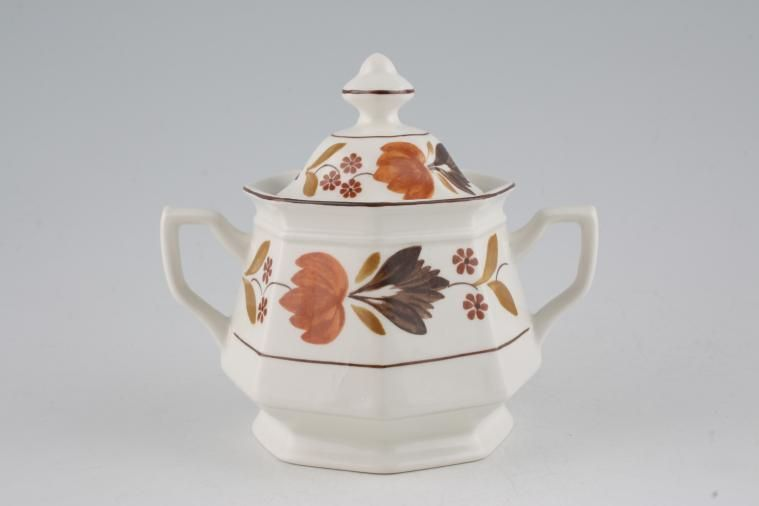 Adams - Goldenvale - Sugar Bowl - Lidded (Tea)