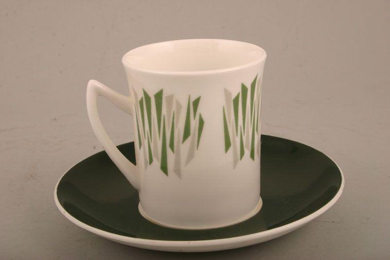 Elizabethan - Kon Tiki - Coffee Cup - Green