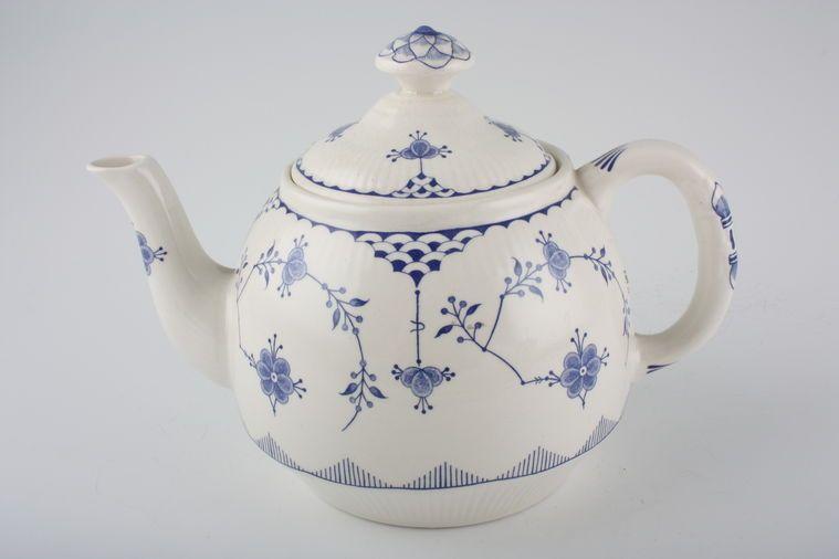 Furnivals - Denmark - Blue - Teapot