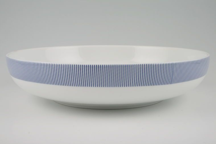 Habitat - Pinstripe - Serving Bowl - Shallow