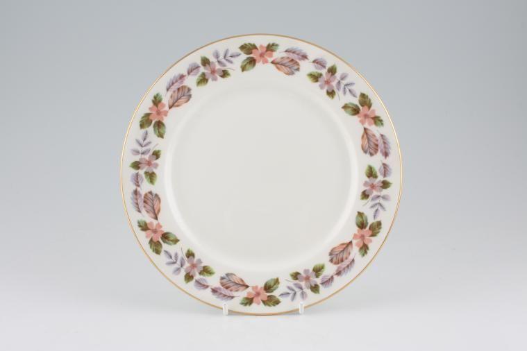 Aynsley - April Rose - Straight Edge - Starter / Salad / Dessert Plate