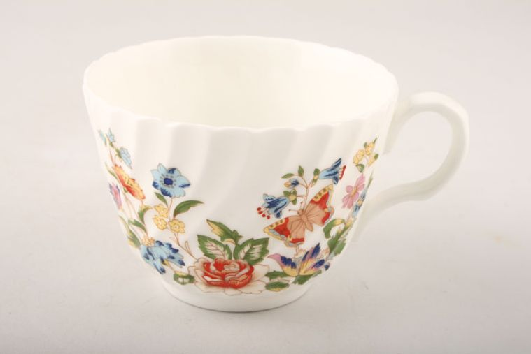 Aynsley - Cottage Garden - Swirl Shape - Teacup