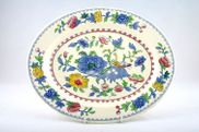 Masons - Regency - Oval Plate / Platter - 15 3/4""