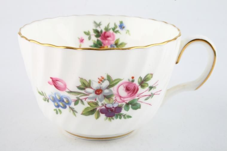 Minton - Marlow - Fluted and Straight Edge - Teacup - Fluted