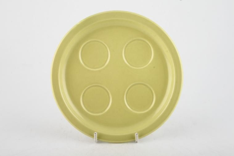 Poole - Seagull and Lime Yellow - Egg Cup Tray - Round