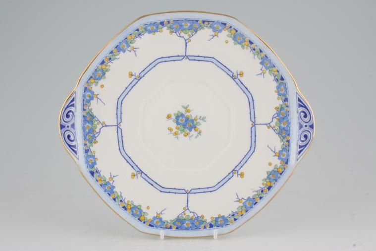 Royal Doulton - Arvon - Cake Plate - octagonal - eared