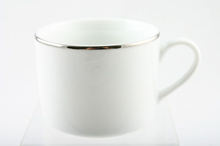 Royal Worcester - Classic Platinum - Teacup - Straight Sided