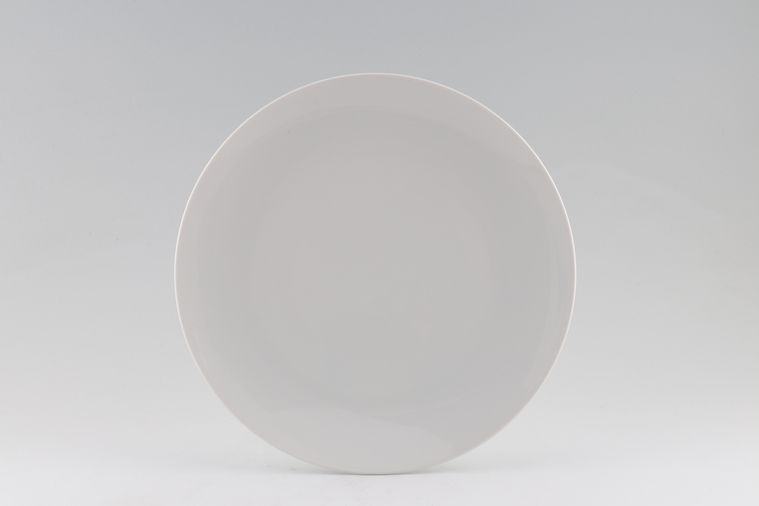 Thomas - Medaillon - White - Plain - Breakfast / Salad / Luncheon Plate