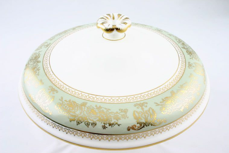 Wedgwood - Columbia - Sage Green - Vegetable Tureen Lid Only